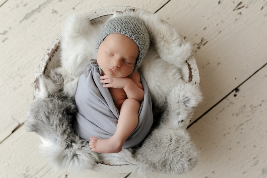 Baby Adam | The Best Chicago Newborn Photos
